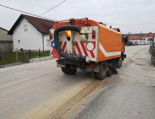 """Iz prometa – """"umivene"""" bistranske ceste"""